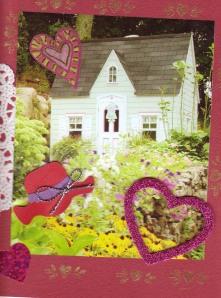 Valentine garden cottage