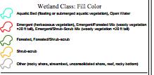 Beginning with Habitat wetland map legend, Windham, ME